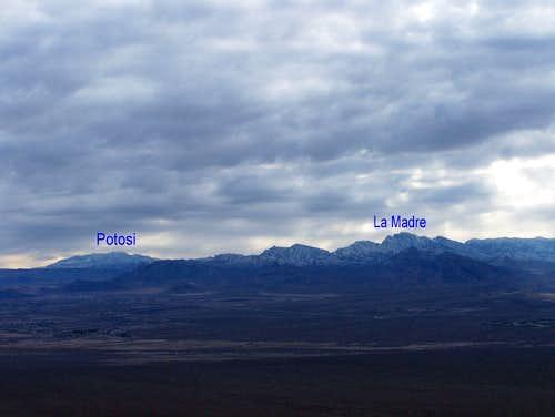 La Madre and Mt. Potosi