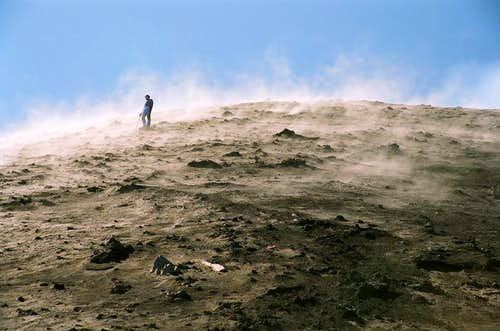 Kamchatka, climbing Kluchevskaya Sopka and Krestovskij volcano.