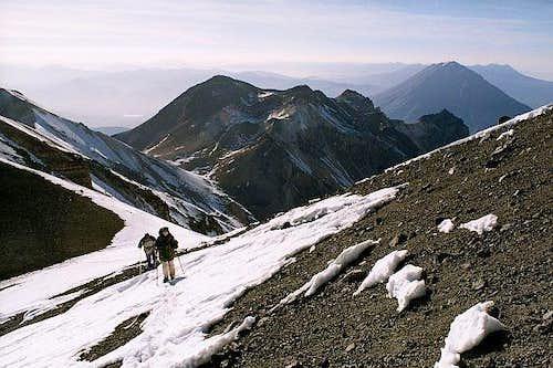 Ascending Chachani