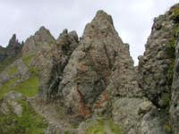 Route over Padon Ridge