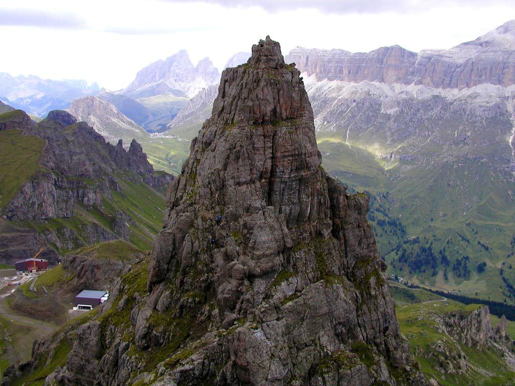 The summit of Mesola.