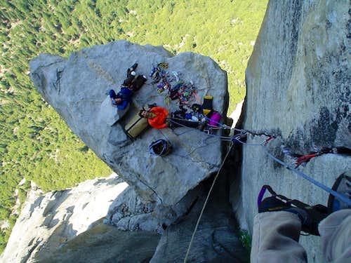Bivy on El Cap Spire