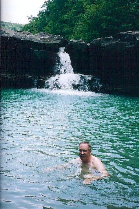 Swimhole below the falls