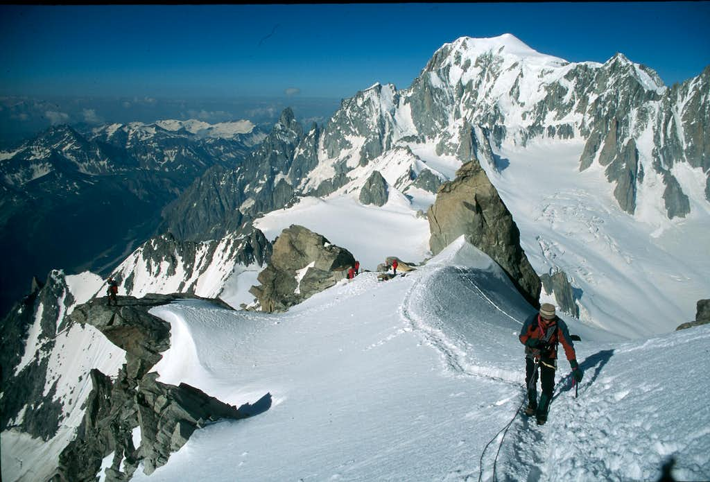 1st Route in the Alps