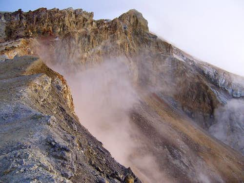 Baker Crater Steam