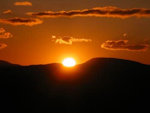 Sunrise at 12'000 feet on Mt...