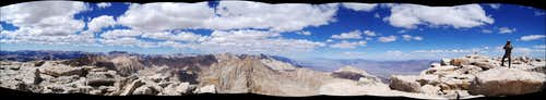 Pano from summit