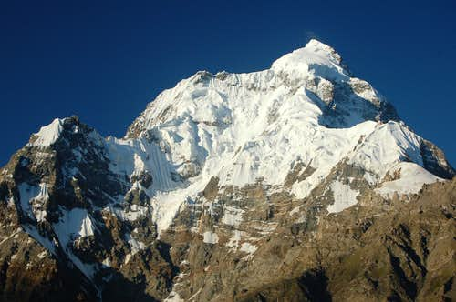 North Face of Makrong Chhish