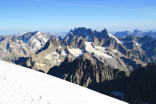 Ridge of Meije