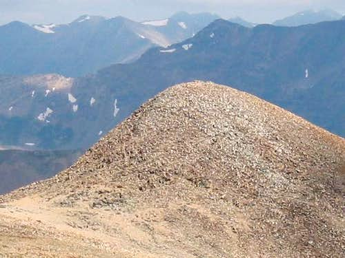Gemini Peak from Mt. Sherman....
