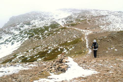 Descending Peñalara