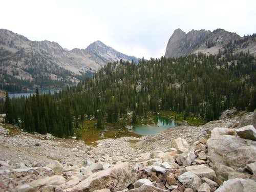 Upper Alice Lakes View