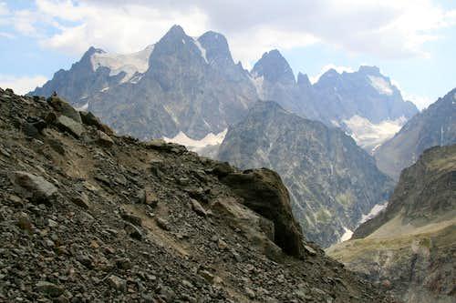 Mont Pelvoux, Pic Sans Nom, Ailefroide