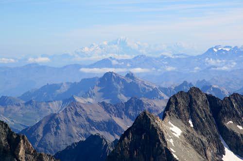 Les Ecrins summit views