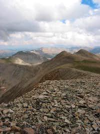 The aptly-named Gemini Peak...