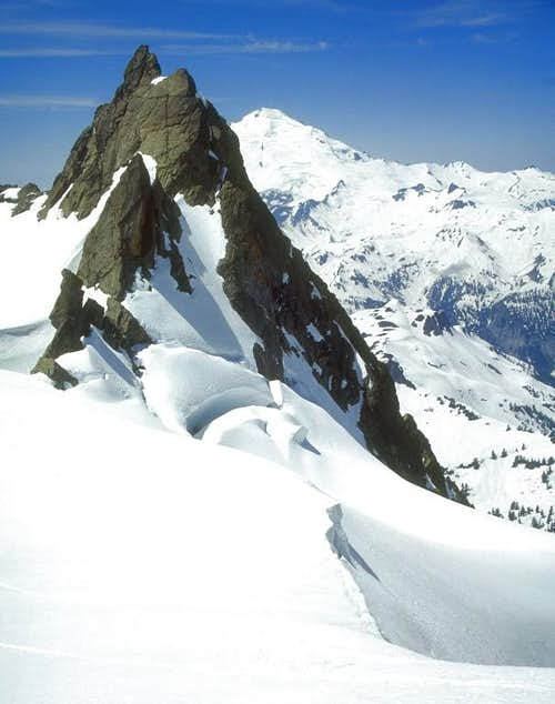 Mt. Baker from the top of...