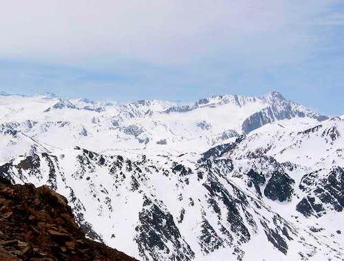 View from Dunderberg Peak...