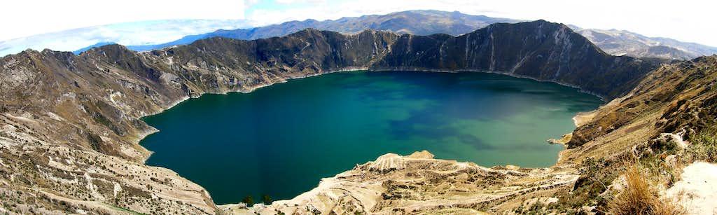 Quilotoa Panorama