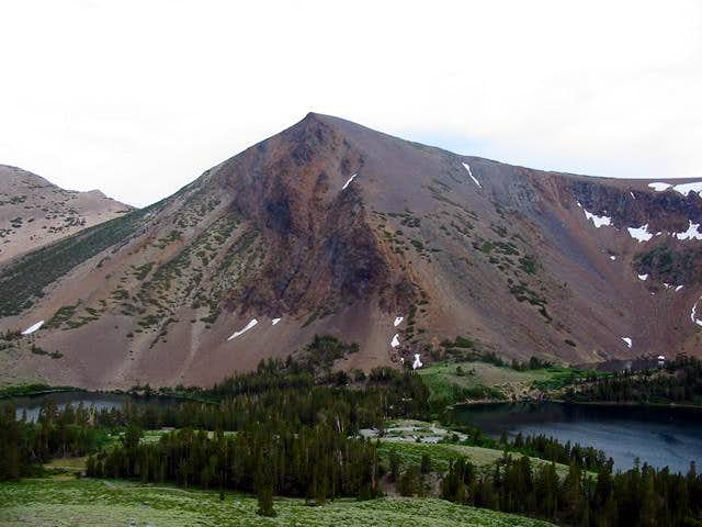 The view of South Peak from...