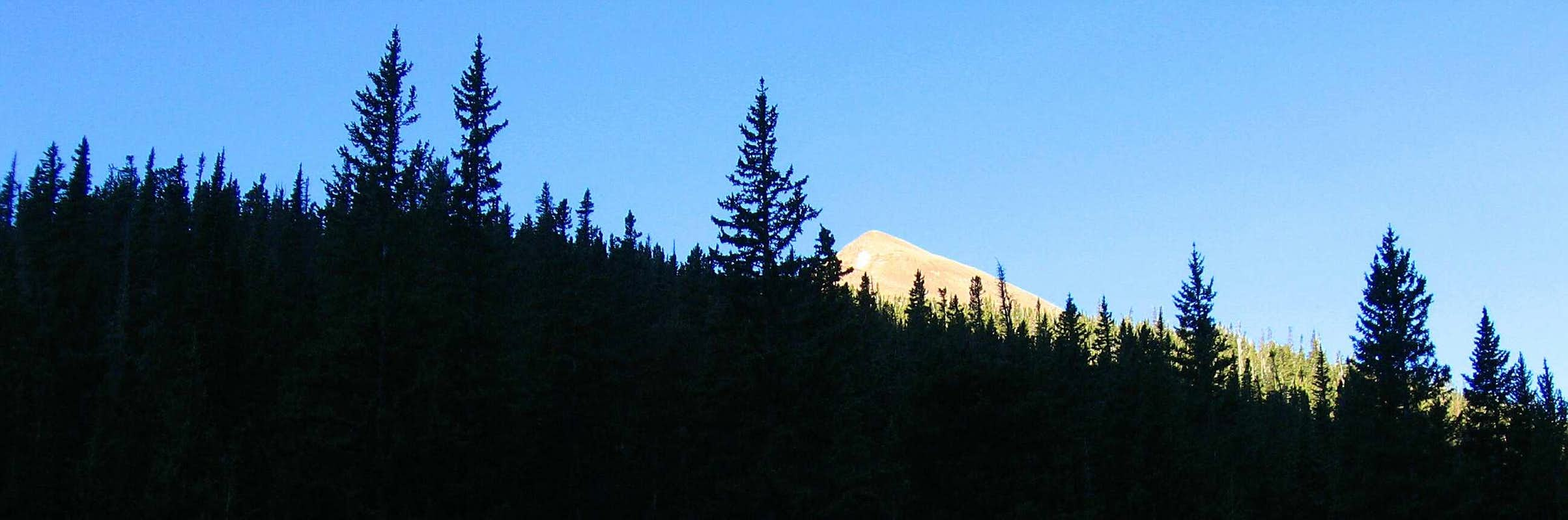 Baldy Mountain from Copper Park (Panorama Crop)