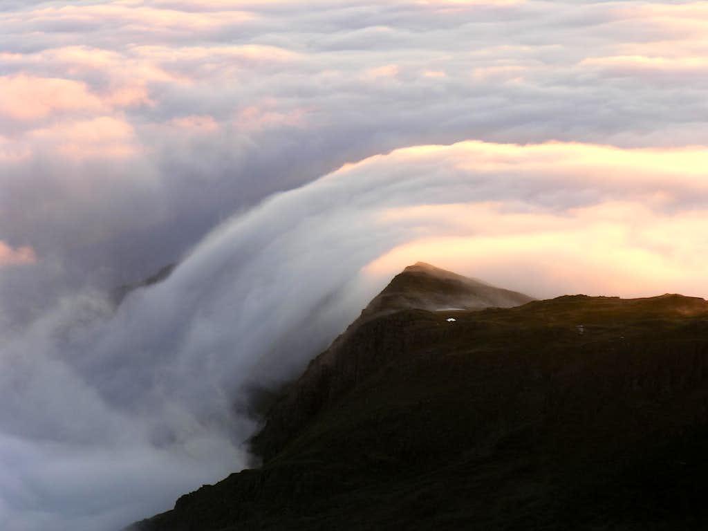 Cloud Patterns on Y Lliwedd