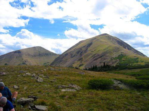 Lulu and Thunder Mountains