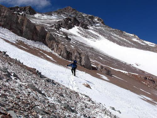 Cerro Ramada, at 17,400 ft.