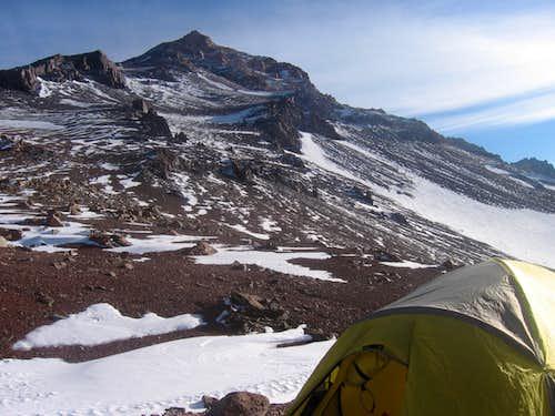 At 17,800 ft. on Cerro Ramada