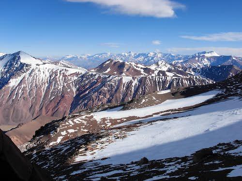 Cerro Ramada, at 18,700 ft.