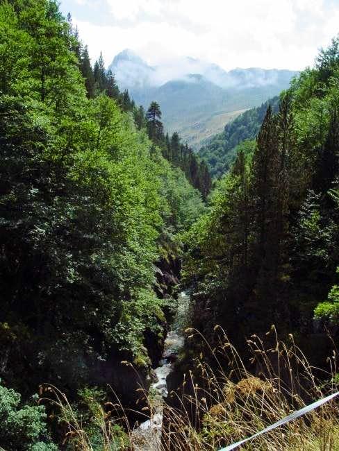 River Aguas Limpias from Paso...