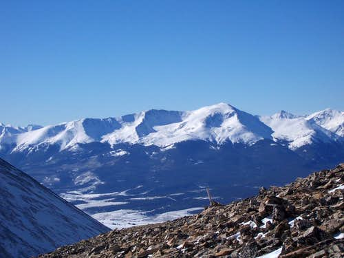 Mount Elbert Winter Photos