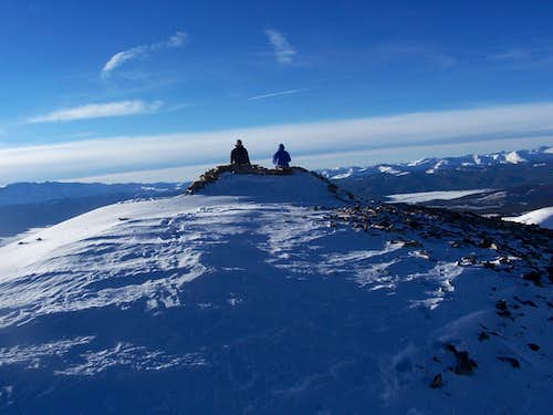 Summit of Sheridan