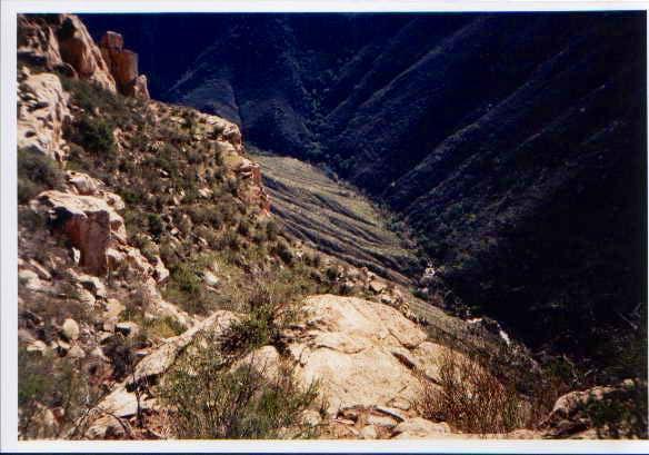 Boulder Creek is a long way...