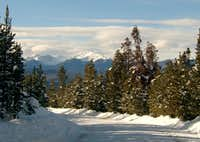 Byer's Peak from County Rd 8 in Fraser