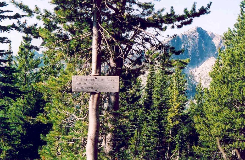 Trail Junction, Parker Ridge