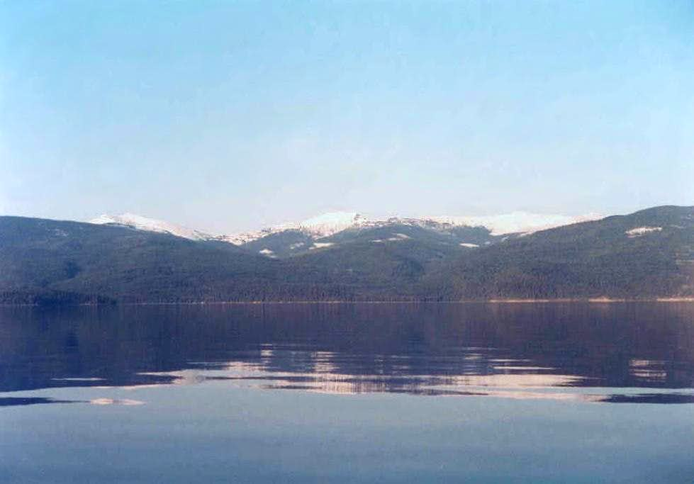 Priest Lake Selkirk Mountains
