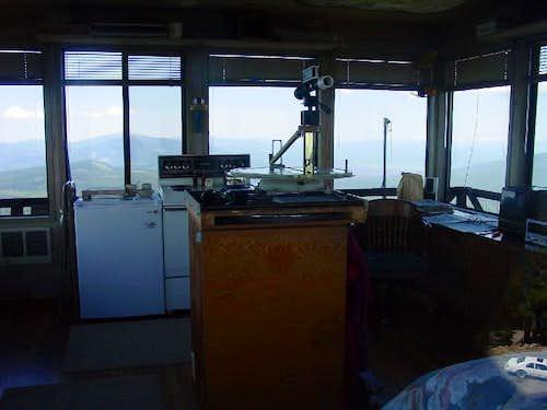 Inside Odell Butte's Lookout
