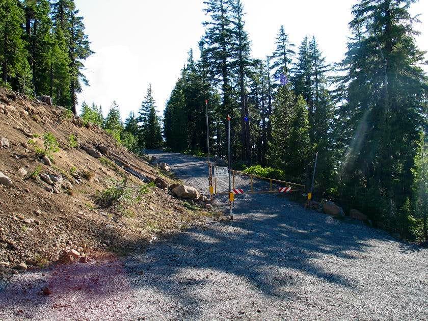 Odell Butte gate