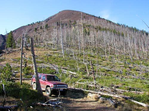Ironside Mountain from NE saddle
