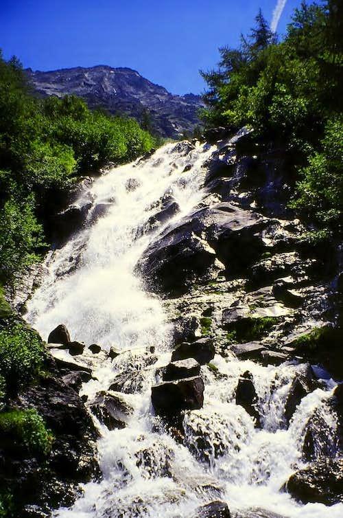 Cascata delle Laures