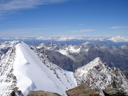 A view from the Stecknadelhorn