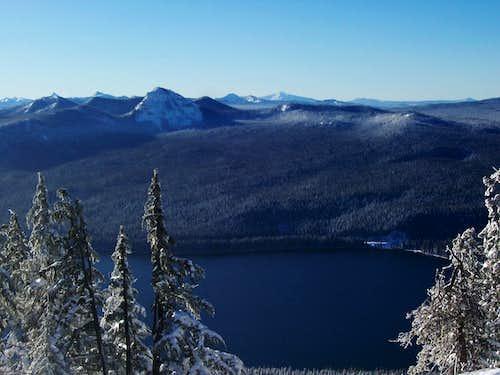 Odell lake/Diamond peak wilderness.