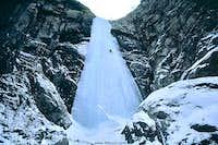 Tyrnyauz ice-climbing - common front view...