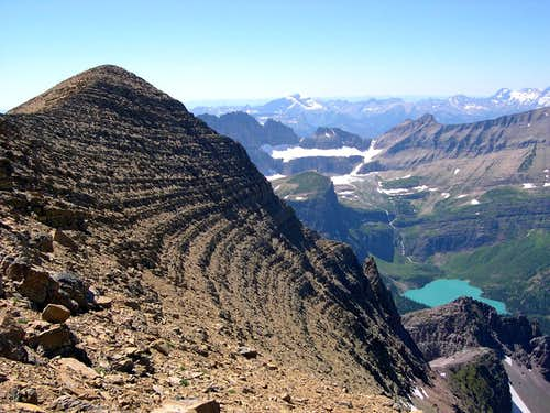 Allen Mountain and Glacier National Park