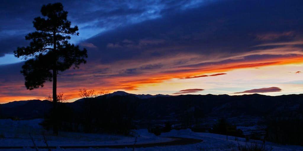 Multi-Colored Sky in Colorado