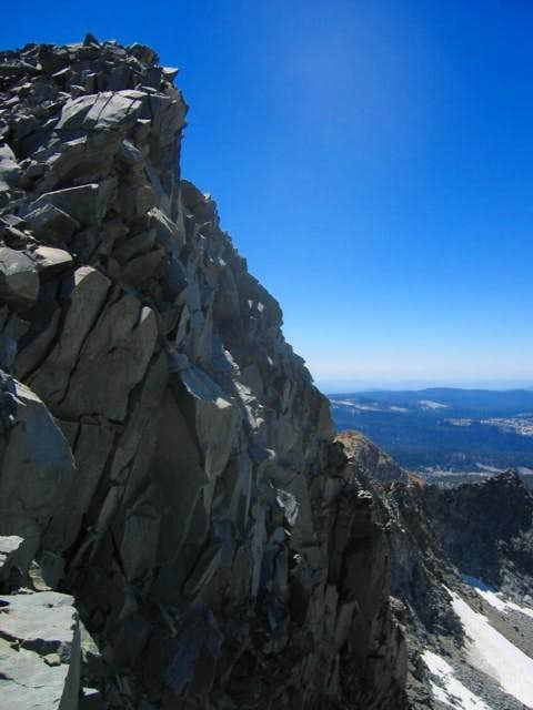 The North Face of Merced Peak...