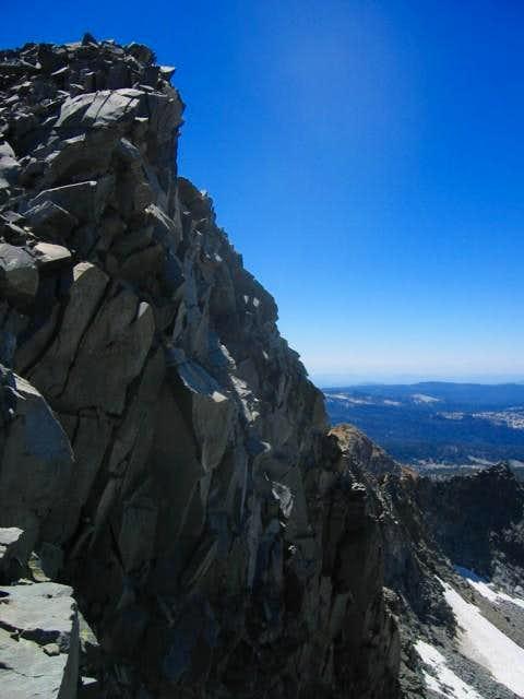 The North Face of Merced Peak...