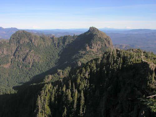 Three volcano view
