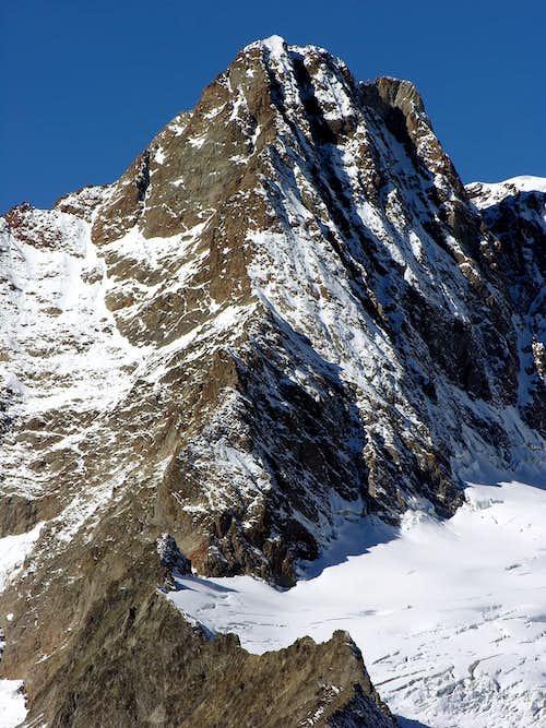 East-south-east side of Aiguille des Glacier <i>(3816m)</i>