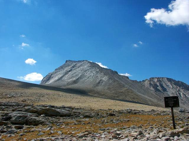 Mt. Tyndall and its...